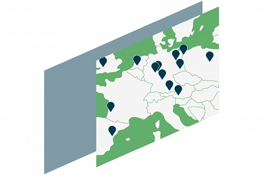 thinkproject's european locations