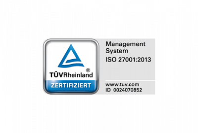thinkproject is ISO 27001:2013 certified