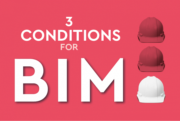 The 3 Conditions for BIM