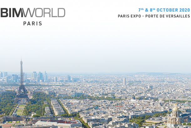 BIM World Paris 2020 - Rencontrons-nous !