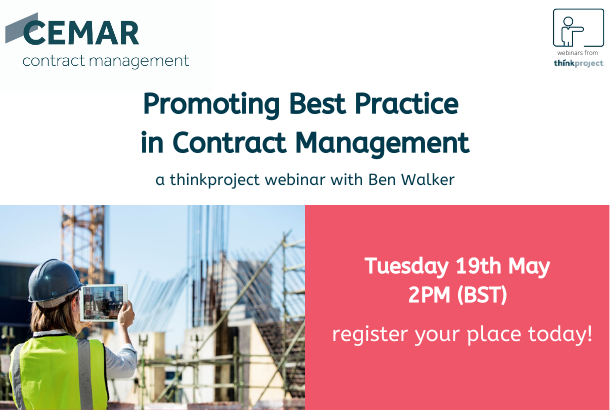 Promoting Best Practice in Contract Management webinar