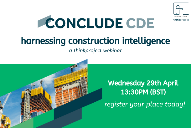 CONCLUDE CDE: harnessing construction intelligence Webinar