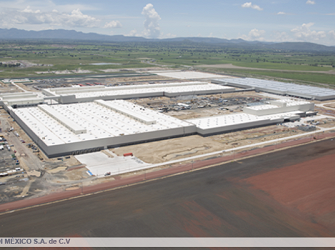 Audi Manufacturing Plant, Mexico