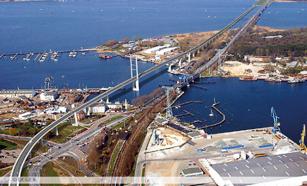 Infrastructure bridge project for Strelasund Crossing