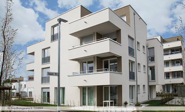 New residential homes from Siedlungswerk
