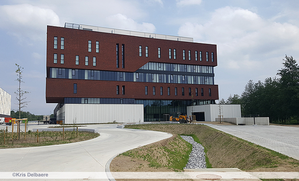 New fire station as part of safety services hub for Hasselt